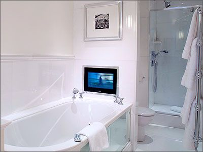 Small Bathroom Tv